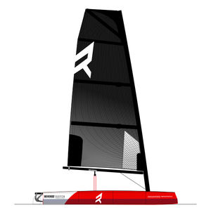 single-handed sailing dinghy / double-handed / recreational / regatta