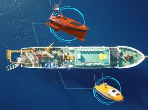 environmental measurement unmanned surface vehicle / for hydrographic surveys / for oceanographic surveys / patrol