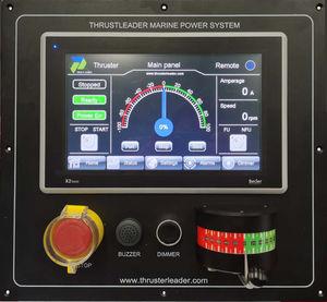 thruster control panel