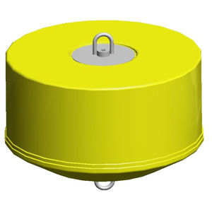 mooring buoy / for aquaculture / cylindrical / for strong currents