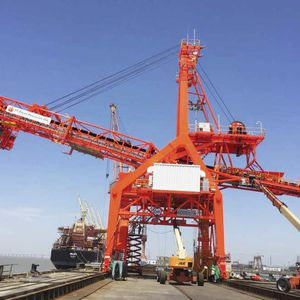 continuous ship loader