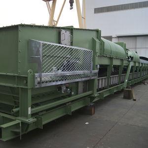 belt conveyor ship loader-unloader