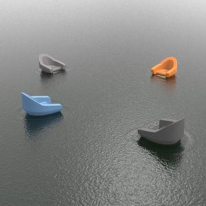 recreation center floating armchair
