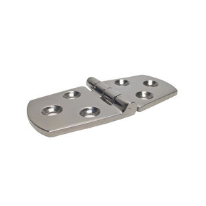 boat hinge / for yachts / for ships / polished stainless steel