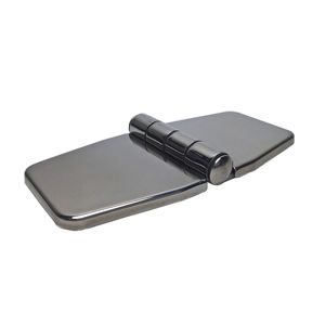 boat hinge / for yachts / polished stainless steel