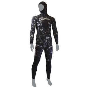 spearfishing wetsuit / with hood / two-piece / 5 mm