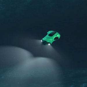 underwater photography drone / tethered