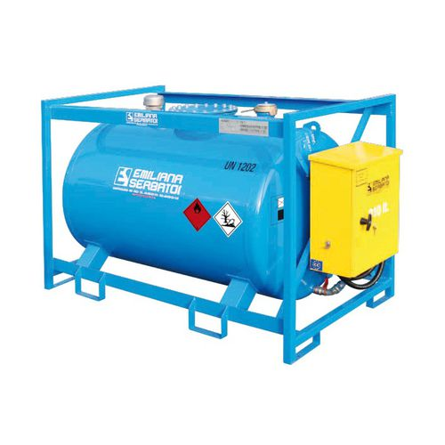 fuel tank / for boats / with transfer pump / metal