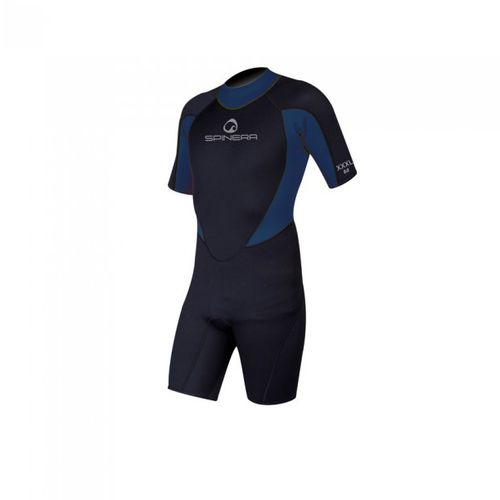 watersports wetsuit / shorty / short-sleeved / 3 mm