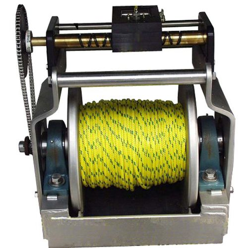 parasail winch / for boats / hydraulic drive