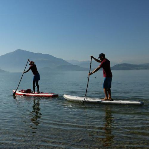 touring stand-up paddle-board / inflatable