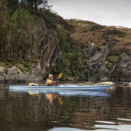 rigid kayak / sea / solo / carbon