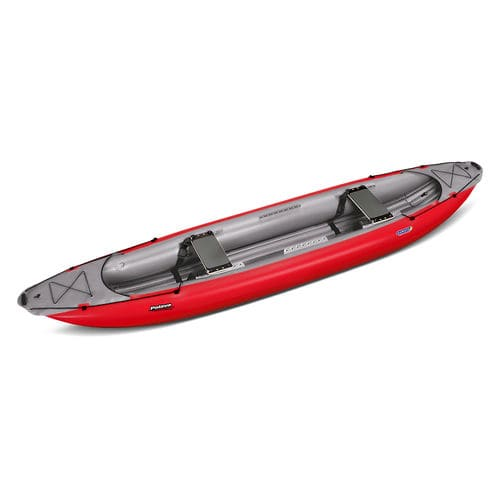 touring canoe / inflatable / 2-person
