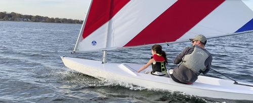 recreational sailing dinghy