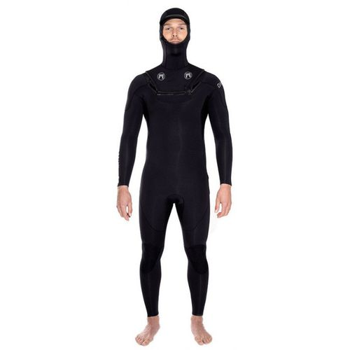 watersports wetsuit / full / long-sleeve / with hood