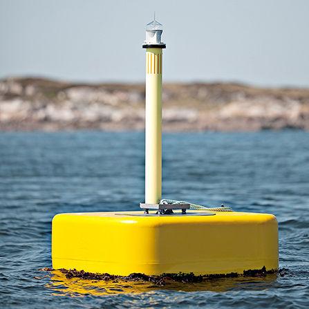 boat signalling light / incandescent / for aquaculture / solar