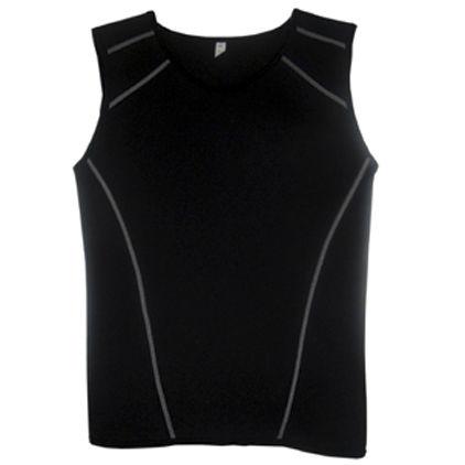 sleeveless neoprene top
