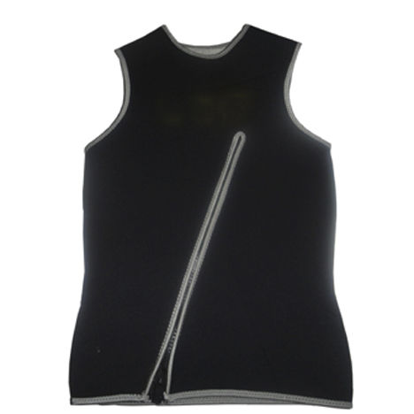 sleeveless neoprene top