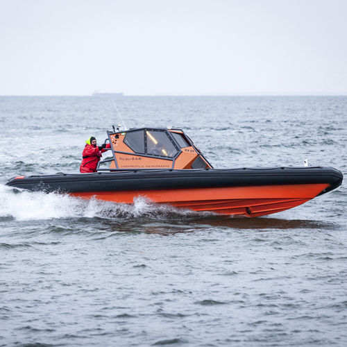 utility boat professional boat / rescue boat / dive support boat / outboard