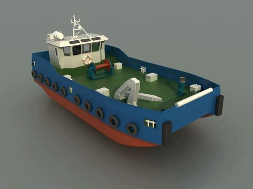 professional fishing boat