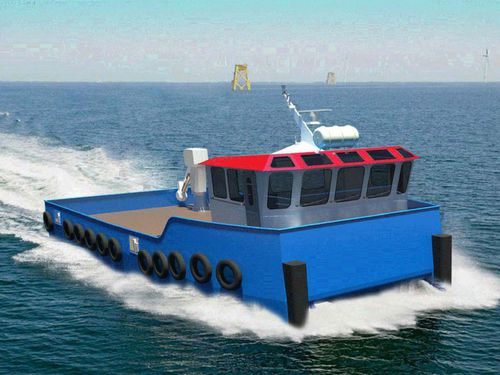 professional fishing boat
