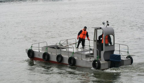 pollution control boat