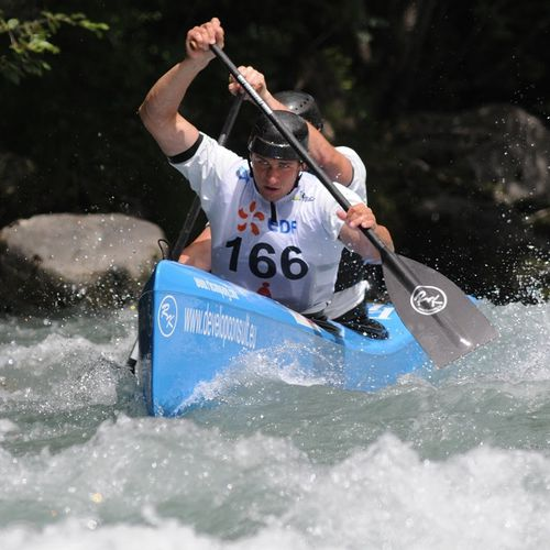 racing canoe / flatwater / river running / 2-person