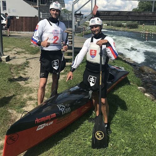 racing canoe / river running / 2-person