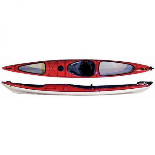 rigid kayak / expedition / solo / composite