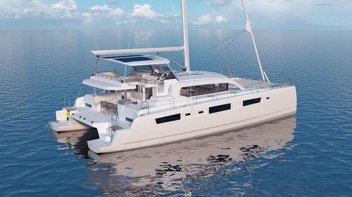 catamaran / cruising / flybridge / 3-cabin