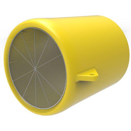 microplastics filtration buoy