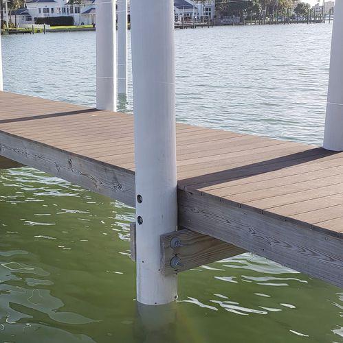 dock pile guide