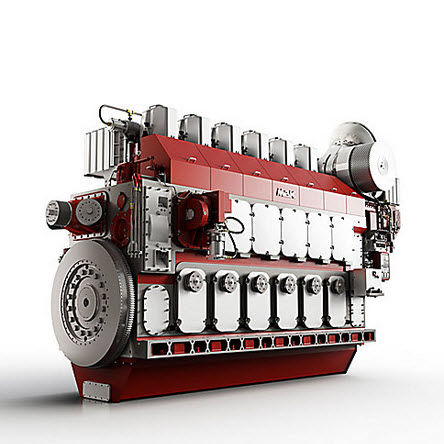 inboard engine / propulsion / professional vessel / diesel