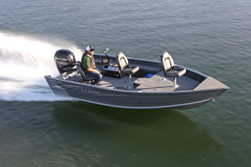 outboard small boat / sport-fishing / aluminum / 6-person max.