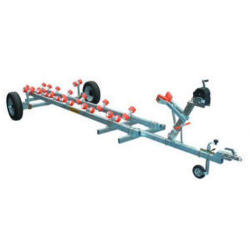 launching trailer / for boats
