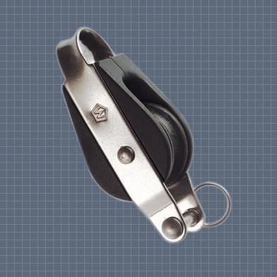 ball bearing block / single / with becket / with fixed head