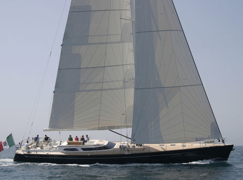 cruising-racing sailing yacht / deck saloon / 4-cabin / with bowsprit