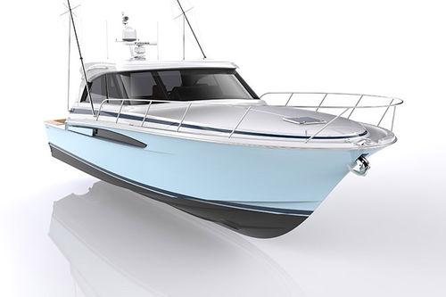cruising motor yacht / open / hard-top