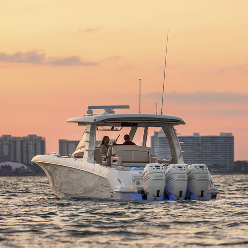outboard runabout / bowrider / 14-person max.