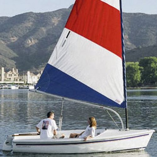 double-handed sailing dinghy / recreational / catboat