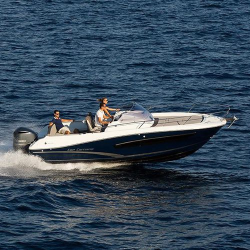 outboard walkaround / center console / sport / with cabin