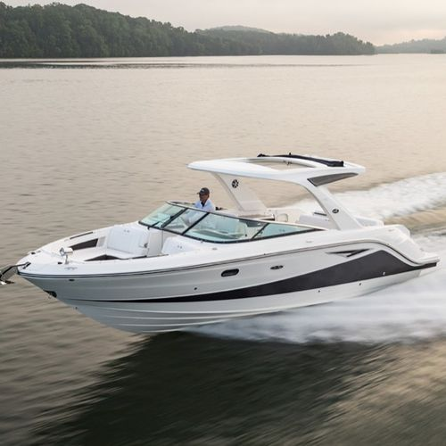 sterndrive runabout / twin-engine / dual-console / bowrider