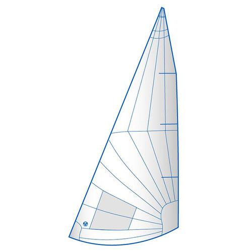 jib / for one-design sport keelboats / radial cut