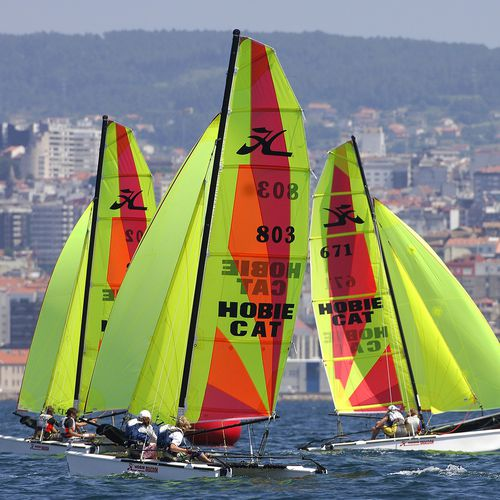 instructional sport catamaran