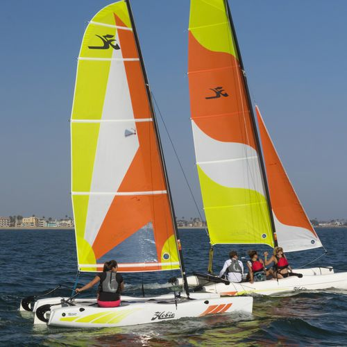 recreational sport catamaran / single-handed / catboat