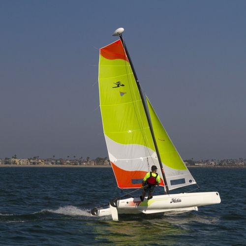 recreational sport catamaran / instructional / multi-person / single-trapeze