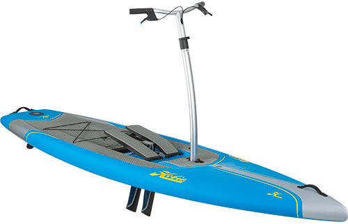 all-around SUP / touring / pedal-operated / epoxy