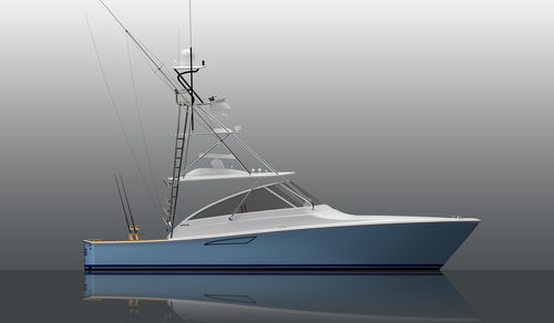 inboard express cruiser / diesel / cruising / sport-fishing