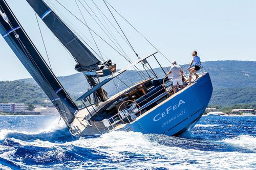 cruising-racing sailing yacht / classic / deck saloon / with 4 or 5 cabins
