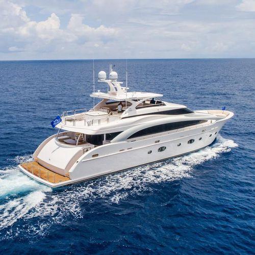 cruising super-yacht - Horizon